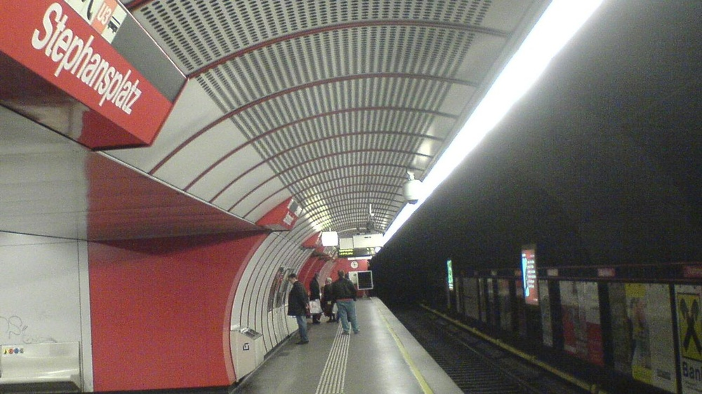 U1-Station Stephansplatz © der gelehrte hermes, gemeinfrei